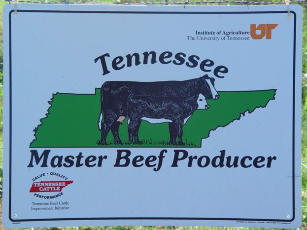 Master Beef Producer Sign