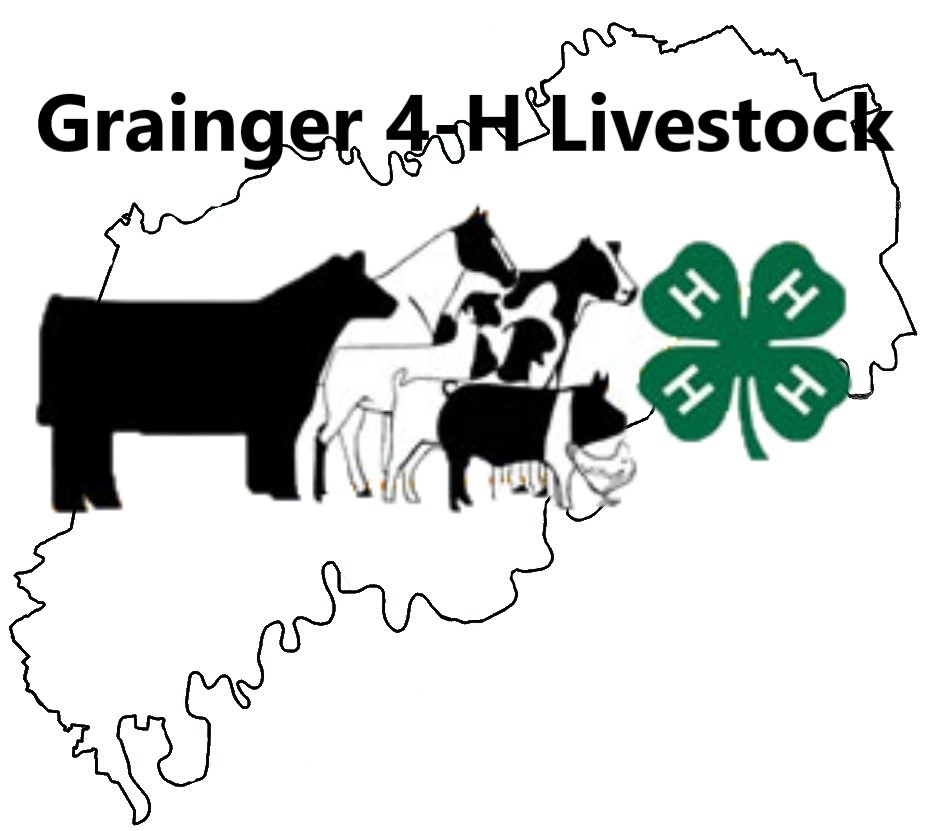 Grainger County 4-H Livestock Logo