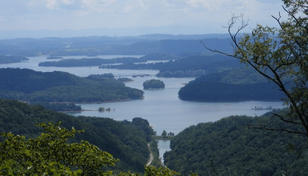 Overlook from Clinch mountain